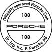 Officially approved Porsche Club 188